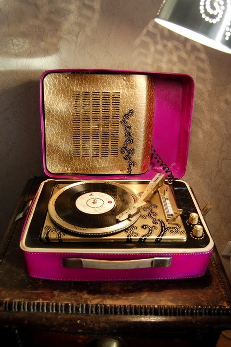 old music player