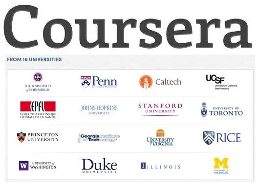Cursos en Línea: Coursera