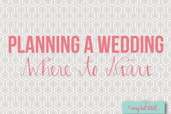 Planeando boda ando